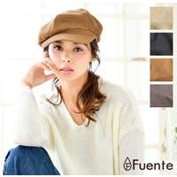 FUENTE(フェンテ)の帽子/キャスケット