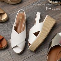 Re:EDIT(リエディ)のシューズ・靴/サボサンダル