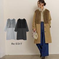 Re:EDIT(リエディ)のアウター(コート・ジャケットなど)/ノーカラージャケット