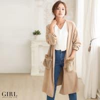 GIRL(ガール)のアウター(コート・ジャケットなど)/ロングコート