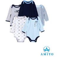 Amiyo(アミヨ)のベビー/べビーロンパース・カバーオール