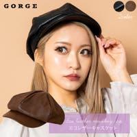 GORGE (ゴージ)の帽子/キャスケット