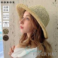 GORGE (ゴージ)の帽子/麦わら帽子・ストローハット・カンカン帽