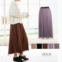 Growing Rich(グローウィングリッチ)のスカート/プリーツスカート