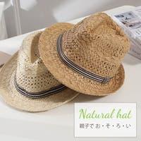 HANAHANA(ハナハナ)の帽子/麦わら帽子・ストローハット・カンカン帽