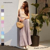 HENANA (ヘナナ)のスカート/プリーツスカート