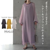 HUG.U(ハグユー)のワンピース・ドレス/シフォンワンピース