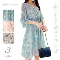 ica(アイカ)のワンピース・ドレス/シフォンワンピース