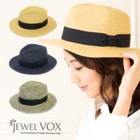 Jewel vox(ジュエルボックス)の帽子/麦わら帽子・ストローハット・カンカン帽