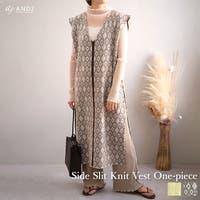 ANDJ(アンドジェイ)のワンピース・ドレス/ニットワンピース