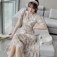 JS FASHION(ジェーエスファッション)のワンピース・ドレス/シフォンワンピース