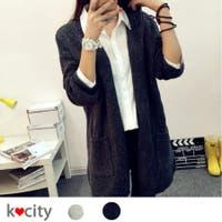 K-city(ケイシティ)のトップス/カーディガン