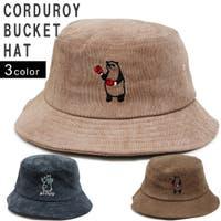 KEYS  | 帽子 ハット HAT バケットハット メンズ レディース コーデュロイ アニマル 刺繍 キーズ Keys-219