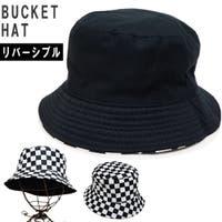 KEYS キーズ | 帽子 ハット バケットハット HAT コットン リバーシブル チェッカー レディース キーズ Keys-229
