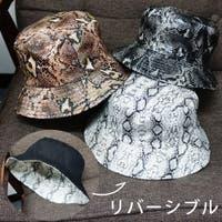 KEYS  | 帽子 バケットハット ハット HAT パイソン柄 無地 ブラック リバーシブル メンズ レディース キーズ Keys-230