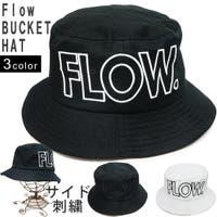 KEYS  | 帽子 バケットハット ハット メンズ レディース HAT コットン 刺繍 ロゴ Flow キーズ Keys-238
