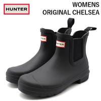 靴のニシムラ | ハンター レインブーツ レディース 長靴 黒 ブラック HUNTER WOMENS ORIGINAL CHELSEA WFS2078