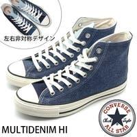 靴のニシムラ | コンバース オールスター スニーカー メンズ 靴 ハイカット デニム CONVERSE ALL STAR MULTIDENIM HI