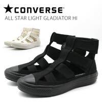 靴のニシムラ | コンバース レディース 靴 ハイカット 黒 ブラック 白 ホワイト 軽量 軽い 通気性 ベルト オールスター ライト グラディエーター サンダル ALL STAR LIGHT GLADIATOR HI