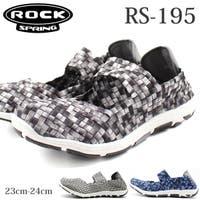靴のニシムラ | スニーカー レディース 靴 スリッポン サンダル 黒 白 ブラック ホワイト 軽量 軽い 2way ロックスプリング ROCK SPRING RS-195