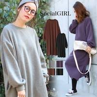 Social GIRL(ソーシャル ガール)のワンピース・ドレス/ワンピース