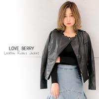 Love Berry(ラブベリー)のアウター(コート・ジャケットなど)/ライダースジャケット