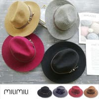 MILIMILI (ミリミリ)の帽子/ハット