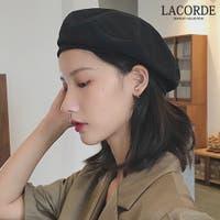 LACORDE (ラコーデ)の帽子/ベレー帽