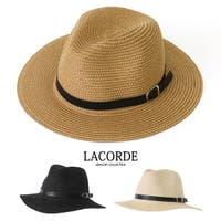 LACORDE (ラコーデ)の帽子/麦わら帽子・ストローハット・カンカン帽