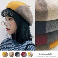 maison de LATIR(メゾンドラティール)の帽子/ベレー帽