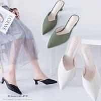 maison de LATIR(メゾンドラティール)のシューズ・靴/ミュール