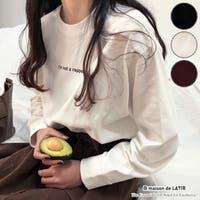 maison de LATIR(メゾンドラティール)のトップス/Tシャツ