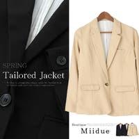 MiiDUE(ミイデューエ)のアウター(コート・ジャケットなど)/テーラードジャケット