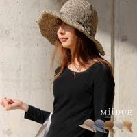MiiDUE(ミイデューエ)の帽子/麦わら帽子・ストローハット・カンカン帽