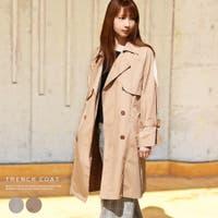 MiiDUE | トレンチコート スプリングコート レディース 春 アウター 春コート コート ジャケット 春物 ロング