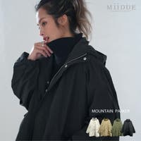 MiiDUE(ミイデューエ)のアウター(コート・ジャケットなど)/マウンテンパーカー
