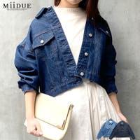 MiiDUE(ミイデューエ)のアウター(コート・ジャケットなど)/デニムジャケット