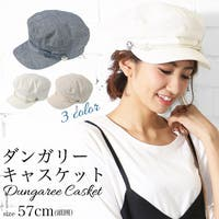mili an deni(ミリアンデニ)の帽子/キャスケット