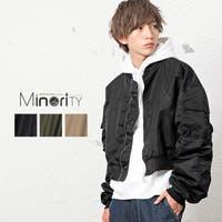 MinoriTY(マイノリティ)のアウター(コート・ジャケットなど)/MA-1・ミリタリージャケット