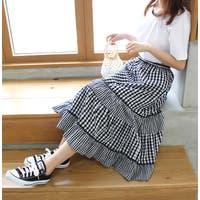 MODE ROBE(モードローブ)のスカート/ティアードスカート