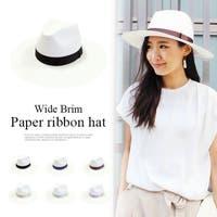 MODE ROBE(モードローブ)の帽子/麦わら帽子・ストローハット・カンカン帽
