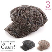 NATURAL BERRY(ナチュラルベリー)の帽子/キャスケット