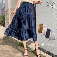 NEWGIRL (ニューガール )のスカート/ティアードスカート