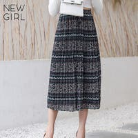 NEWGIRL (ニューガール )のスカート/プリーツスカート
