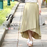PourVous(プールヴー)のスカート/プリーツスカート