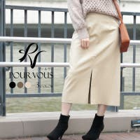 PourVous(プールヴー)のスカート/ひざ丈スカート