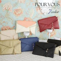 PourVous(プールヴー)のバッグ・鞄/クラッチバッグ