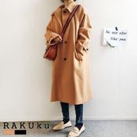 RAKUku(ラクク)のアウター(コート・ジャケットなど)/チェスターコート