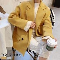 RAKUku(ラクク)のアウター(コート・ジャケットなど)/Pコート