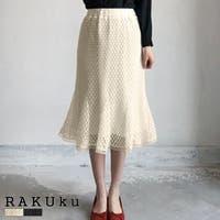 RAKUku(ラクク)のスカート/ひざ丈スカート